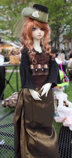 Steampunk Doll - You can turn any doll into steampunk with a little imagination!!!!!