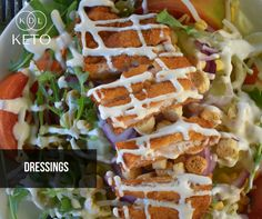 """Tips for beginners: """"C.A.R.B.O.H.Y.D.R.A.T.E.S."""" that you can eat on the keto diet Food item 8: D stands for Dressings (low carbs).  You can also get more keto tips by following our page the KDL Keto Facebook Page https://web.facebook.com/KDLKeto/ and connect with other keto practitioners by joining the KDL Keto Group https://web.facebook.com/groups/kdlketo/?ref=br_rs."""