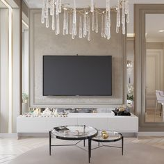Living Room Large Wall Decor Ideas Inspiration Ideas For 2019 Living Room Tv Wall, Luxurious Bedrooms, Living Room Design Modern, Luxury Living Room, Living Room Designs, Luxury Interior, Tv Room Design, Interior Design, House Interior