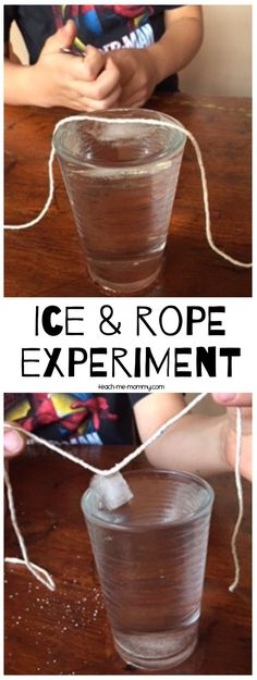 a fun experiment to show your students about different states of matter!