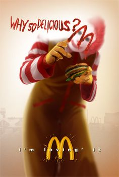 Bad Advertisement: This ad is bad as McDonalds is a fast food chain that targets a wide market. Such an ad will just scare away consumers as they might associate McDonalds with more dark objects than the happiness and joy that is intended. Bad Advertisements, Funny Advertising, Funny Ads, You Funny, Hilarious, Funny Stuff, Funny Things, Random Stuff, Funny Shit