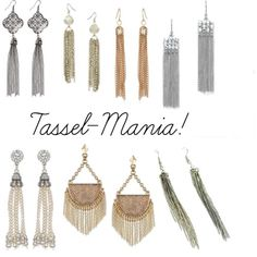 Sunday Crafts: DIY Your Own Tassel Earrings! - The Stripe