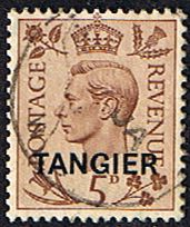 Morocco Agencies TANGIER 1949 SG 265 King George VI Fine Used SG 265 Scott 535 Condition Fine Used Only one post charge applied on multipule