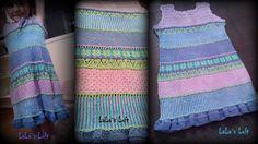 Summerfun dress Yarn Projects, Crochet, Dresses, Vestidos, Crochet Crop Top, Dress, Chrochet, Day Dresses, Knitting