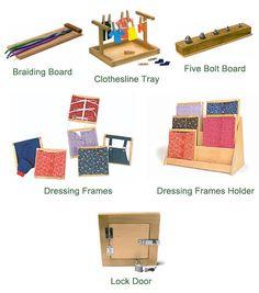 Make braiding board, lock box