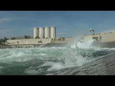 La presa de Mosul, situada al norte de Irak, corre el riesgo de sufrir u...