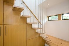 The Mendoza Lane House Sustainable Staircase Interior Design - : Sustainable House Plans, Sustainable House Building Materials, Sustainable House Siding
