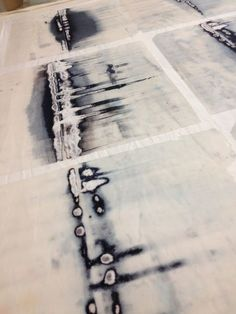 The blog of Helen Terry, textile artist, who uses dye, mark-making and stitch…