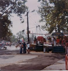 Tilt a Whirl on final day of Marshall Hall Park (1978).