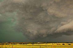 Storm in Oklahoma yesterday, 7/21/15