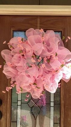 Spiral Deco Mesh Wreath, Mesh Valentines Wreaths for 2014 Lovers Day