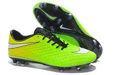 Nike HyperVenom Phantom FG Neymar Boots 2014 - Fluorescent Green White
