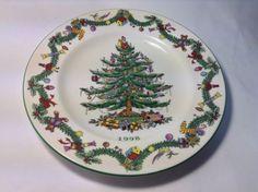 Collector Plate Spode Christmas Tree England 1998