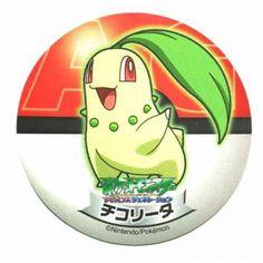 Pokemon 2006 Sapporo Ichiban Ramen AG Collection Series Chikorita Sticker