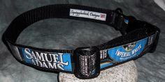 Custom Dog Collar RESERVED for blisphording by squigglechick, $20