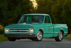 Bill Tichenor ran the @Meaghan Holley Performance 1967 C10 shop truck in the…