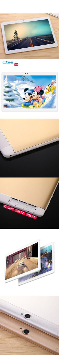 M9 10 inch metal tablet PC Android tablet Pcs Phone call octa core 4GB RAM 64GB ROM Dual SIM GPS IPS FM bluetooth tablets