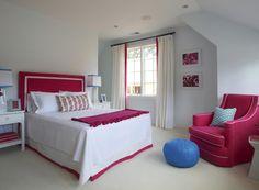 Pink Bedroom. Kensett- Norwood. Lynn Morgan Design.