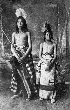 Blackfoot Boys ca.1886-1894  Boy on left hold rifle