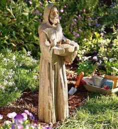 Saint Francis With Bowl Outdoor Garden Religious Figurine Statue Sculpture Home  Décor Decorations Christian Related Gifts Available For Sale At Allu2026 ...
