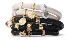 Black and Ivory Jennifer Lopez collection bracelet by Endless Jewelry, Danish Jewelry Brand