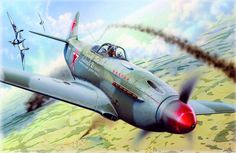 1944 Yak-3  Boris Yeremin, 23 victorias