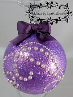 ♥♥♥Cynthialoowho♥♥♥: Day 10 of 10 Days of Christmas Ornaments with Cynthialoowho♥