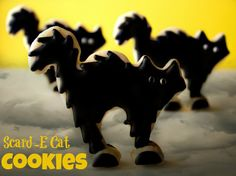 Scar-D-Cats Cookies by The Bearfoot Baker.  If you know her work, you should!