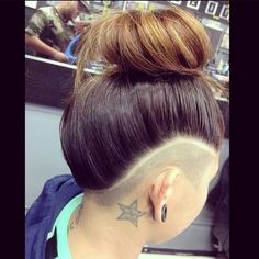 A bit different and sharper to normal undercut, like the cut throat shaved separation line.