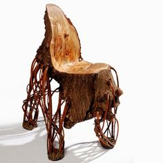 poltrona in legno