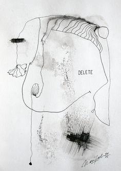 Word XVIII.I.XV ~Delete~ (2015)  © Marijah Bac Cam -  www.marijah-baccam.com