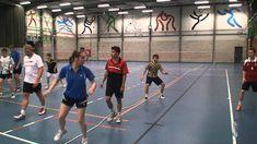 Multitasking and badminton footwork.