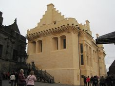 "Sterling Castle ""new"" wing Honeymoon In Scotland, Castle, Louvre, Bucket, Building, Places, Buildings, Castles, Buckets"