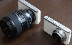 Samsung World's Slimmest & Lightest Interchangeable Lens NX Mini 2 packs 4K into a tiny mirrorless frame.