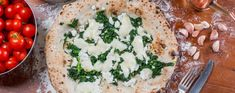 Feta & Spinazie Pizza