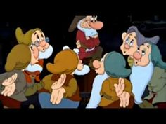 Bluddle-Uddle-Um-Dum (The Washing Song) - Snow White and the Seven Dwarfs. *This would be cute to sing to the kids!*