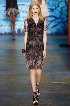 Anna Sui Spring 2016 Ready-to-Wear Fashion Show