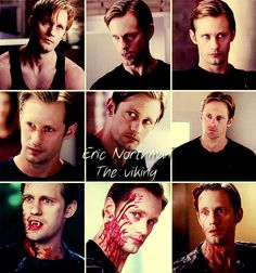 Eric Northman (Alexander Skarsgard) from HBO's True Blood. Sexy man!