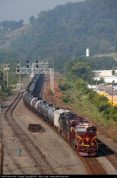 RailPictures.Net Photo: NS 8102 Norfolk Southern GE ES44AC at Etna, Pennsylvania by J. Alex Lang - www.jalexlang.com
