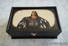 Danny Trejo as Machete hand painted jewelry box  action