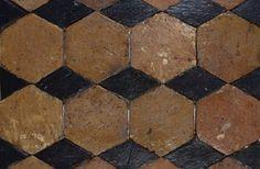 Antique Red Hexagonal Terracotta #parisceramics #antique #redhexagonal #terracotta #surfaceologist 