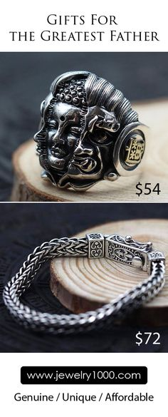 Sterling Silver Jewelry for the Greatest Father