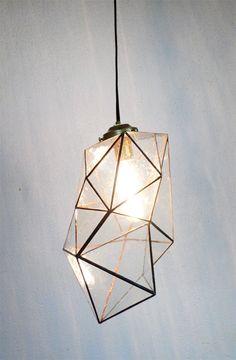 love this geo lamp