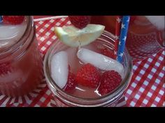 Raspberry Lemonade Recipe ~ 4th of July Week Special ~ Noreen's Kitchen