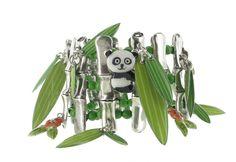 Bracelet Taratata : des bijoux colorés et ludiques sur le thème des pandas. http://www.bijouterie-influences.com/search.php?search_query=bambou