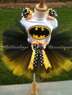 Miss Bat Batman TuTu Set