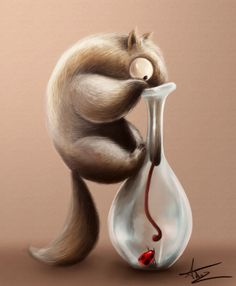 Hard life of an anteater by Anto-Z on deviantART