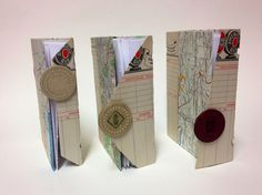 Small travel journals by Molly Walter, via Behance