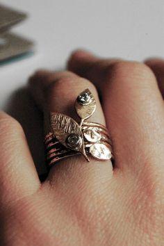 A 14k gold filled handcut and stamped lumberJack's by NestedYellow, #Diamond| http://diamond842.blogspot.com