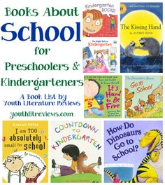 Books About School for Preschoolers and Kindergarteners